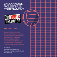Competitive Men's and Coed Volleyball Tournament