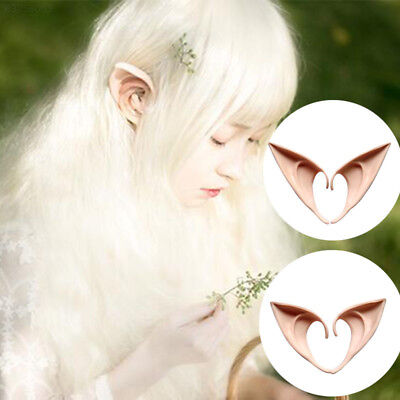 64A7 6740 1Pair Costume Ear Cosplay Holiday Accessories Tool Gadget Party Supply