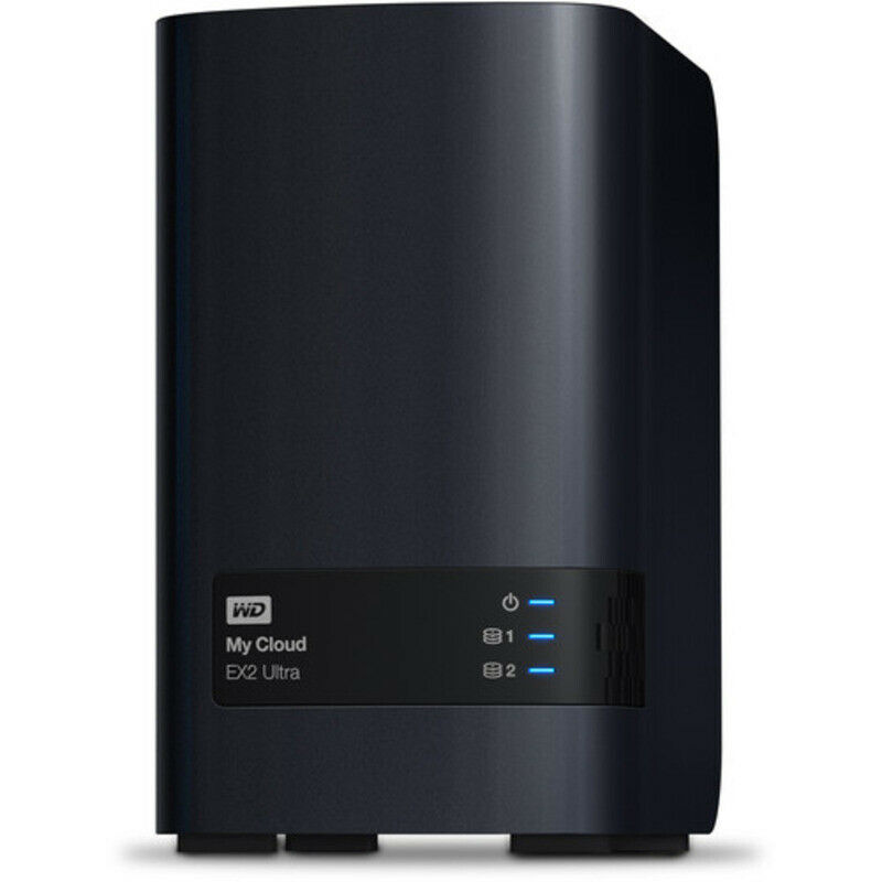 Western Digital My Cloud Ex2 Ultra 12tb Nas Server 2x6000gb Wd Blue Drives