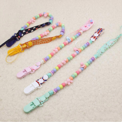 2018 Hot Pacifier Clip Holder Soothie Teething Paci Baby Pro