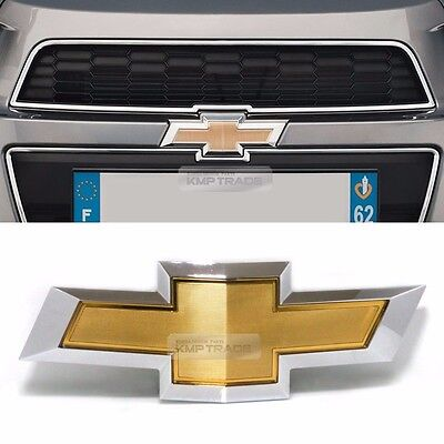 OEM Genuine Parts Front Grille Emblem Logo Badge for CHEVY 2011-2017 Aveo Sonic Genuine Chevy Parts