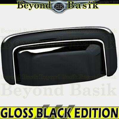 Gmc Yukon Tailgate Handle (2000-2006 CHEVY Tahoe Suburban GMC Yukon GLOSS BLACK Tailgate Handle Cover )