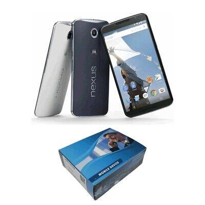 Unlocked Motorola Google Nexus 6 XT1100 GSM SmartPhone 32GB/64GB BLUE/WHITE