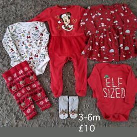 3-6m Christmas bundle