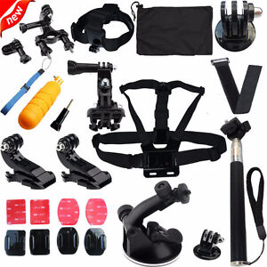 GOPRO Accessories SD Memory Cards Clamps Mounts Stabilizers