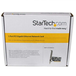 1-Port PCI Gigabit Ethernet Network Card