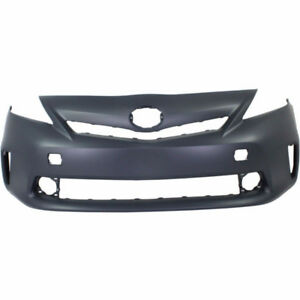 2012 - 2014 TOYOTA PRIUS V FRONT BUMPER TO1000387 12160331