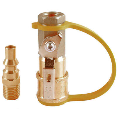RV Propane Quick Connect Adapter Set Gas 1/4