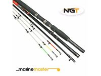 Sea Fishing Marinemaster - 3+3 Tip Carbon Beach / Boat Convertible Rod