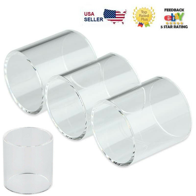 4x SMOK² Pyrex Glass Tube Replacement For TFV8 Baby Beast /