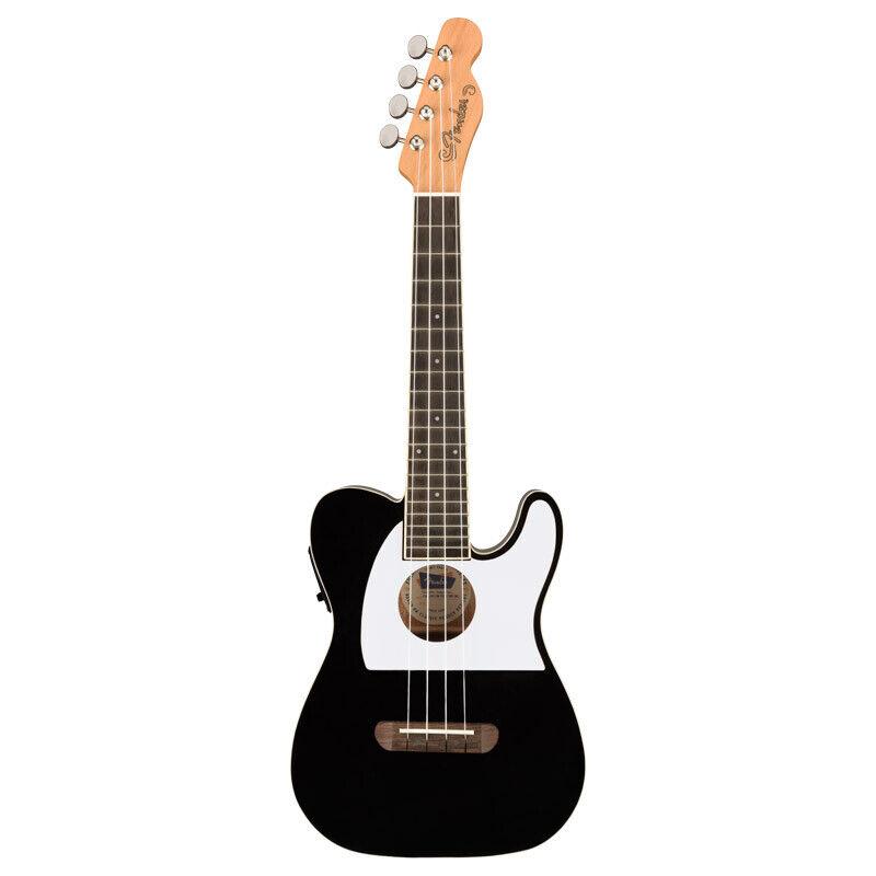Fender Fullerton Telecaster Ukulele, Black (NEW)