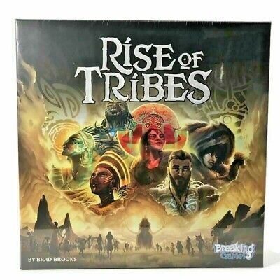 Rise of Tribes Board Game Brand New Sealed
