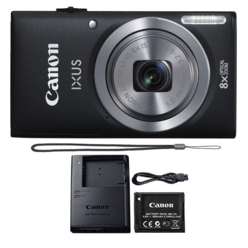 Canon IXUS 185 / ELPH 180 20MP Compact Digital Camera Black