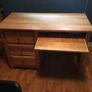 Desk, Chair and Bedroom Set