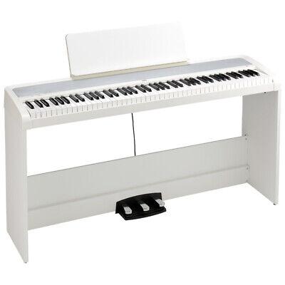 Korg B2 Digital Piano Set, White (Nuevo)