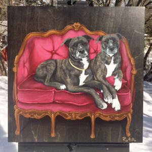 Pet Portraits - Pet Paintings by commission!
