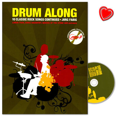 Drum Along X - 10 Classic Rock Songs Continued - BOE7862 - 9783865439642