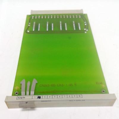 Siemens Simatic Plc Module 6ec3 020-0a