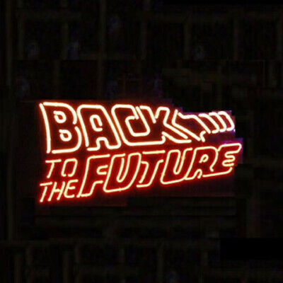 Back To The Future Beer Bar Artwork Gift neon lamp  Party - Back To The Future Party Decorations