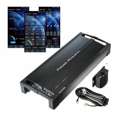 Nuevo amplificador de 5 canales Power Acoustik RZ2500-5DSP con amplificador de procesador de sonido digital