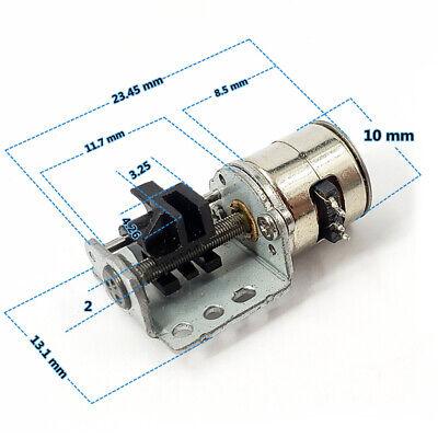 Dc 3v 5v 2-phase Micro 10mm Stepper Motor Mini Linear Screw Slider Nut Camera