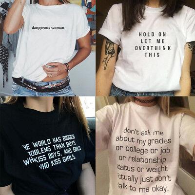 Frauen lustige Slogan T-Shirt Shirt Lesben T-shirt Gay Tumblr Unisex Tops - Top Gay Kostüm