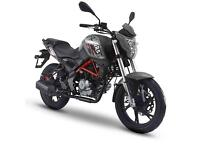 KSR GRS 125, 125CC MOTORBIKE,NEW, FINANCE AVAILABLE, TWO YEAR WARRANTY
