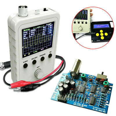 New 2.4 Lcd Display Dso150 Digital Oscilloscope Assembled Case Test Clip Power