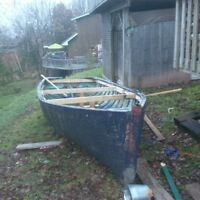 look for a cheap fiberglass boat