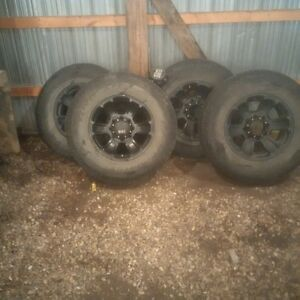 Ford superduty rims, with free tires