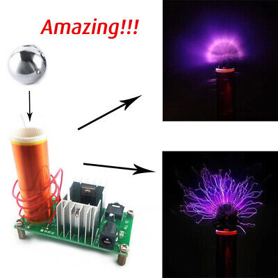 Tesla Coil Plasma Speaker Kit 15w Wstainless Ball Test Electronic Components