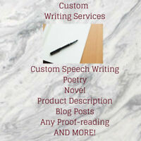 Writing Services!