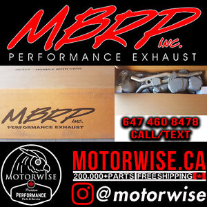 MBRP Mustang GT   Ecoboost   Axleback and Catback Exhuasts