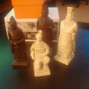 Asian styled chess set