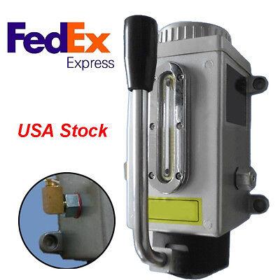 Usahandle Pump Lubricator Lubricating Oil Pump Manual Milling Machine Punching