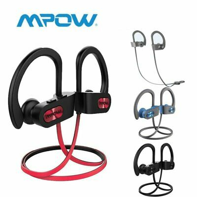Mpow Bluetooth Earbuds Best Wireless Headphones Running Sports Gym SWEATPROOF