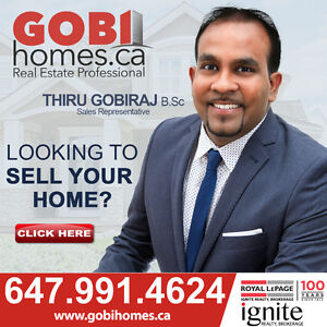 BR: 7 WR: 6 HOME IN Toronto ( Steeles/Staines) www.GOBIHOMES.ca