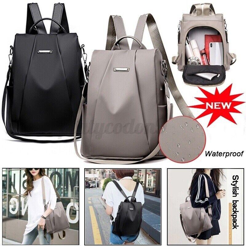 anti theft women bag pu leather shoulder