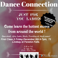 Dance Connections 1st Class! Ladies you don't wunna miss out ♡