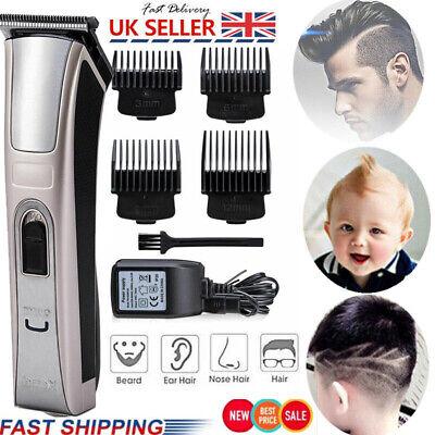 Professional Men Hair Clipper Electric Shave Machine Razor Trimmer Haircut Set