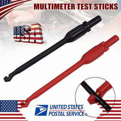 2pcs4mm Automotive Test Lead Kit Power Probe Wire-piercing Clip Tool Puncture