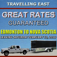 HALIFAX BOUND - GREAT RATES GUARANTEED (LEAVING EDMONTON FEB 13)