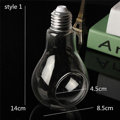 New Mini Stand/Hanging Light Bulb Glass Flower Vase Terrarium Landscape Bottle C
