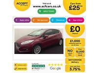 Ford Fiesta 1.6 ( 105ps ) Powershift 2013.25MY Titanium FROM £25 PER WEEK!