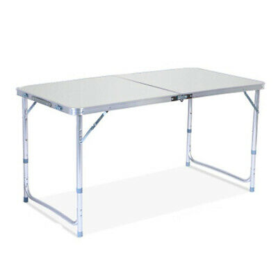 Folding Table Portable Plastic Indoor Outdoor BBQ Picnic Party Camping Table