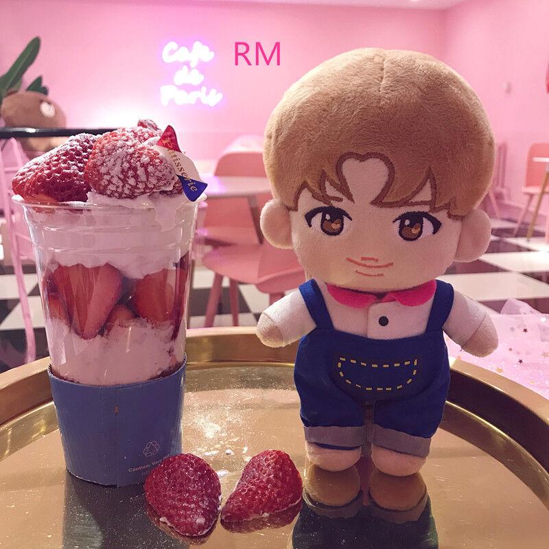 KPOP BTS Special Bobi Plush V JIMIN SUGA RM JK JIN J-HOPE Doll Toy with clothes