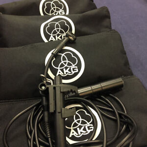 AKG Clip-on Mini Cardioid Mics
