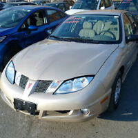 2004 Pontiac Sunfire with only 85km just arrived at Pic N Save!