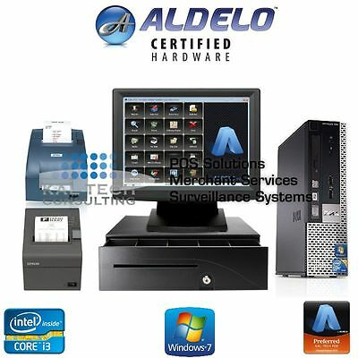 ALDELO PRO FINE DINING RESTAURANT POS With Epson Kitchen Printer NEW I3/4GB RAM Epson Printer Ram