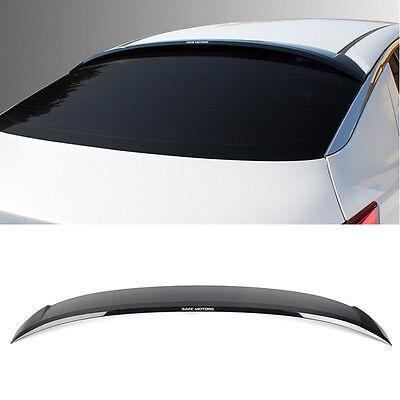 40_Smoke Rear Window Roof Spoiler Visor Deflecter For KIA 2011-2015 Optima K5